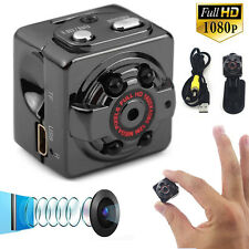 SQ8 Mini DV Camera 1080P HD Car Sport IR Night Vision Spy Hidden Video Recorder