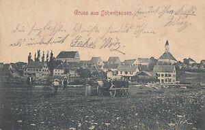 Ansichtskarte Bayern  8873  Ichenhausen  1906  Bahnpost