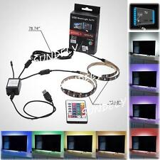 LED TV Backlight 2-Pack USB Light Strip With Remote Control, For 48 -50 TV UK
