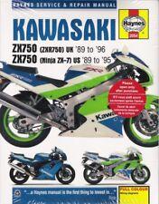 1989-1996 Kawasaki Zx750 Zx7 Ninja Haynes Service Repair Maintenance Manual 2727 (Fits: Kawasaki)