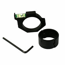 """Spirit Bubble Level for Rifle Scope and Optics with 30mm to 1"""" Ring Adapter"""