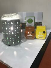 NIB SCENTSY BEACON WARMER With 2 Wax Bars - Free Shipping