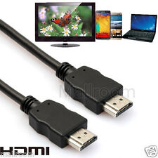 HDMI 1.4 3D HDTV Cable Gold Plated 28 AWG Cat 2 / CL2 / FT4 HDMI to HDMI Cable