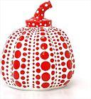 Yayoi Kusama Pumpkin Lammfromm Sculpture Red Paperweight Object No box