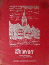 Ottweiler Saar 13 Federzeichnungen von Erich Flegel 1923-1926 in Mappe