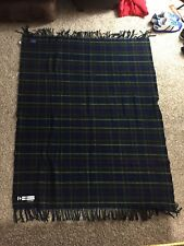 Pendleton Wool Blanket Washable Tartan Plaid  Providence 62x48
