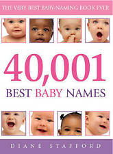 40,001 Best Baby Names by Dianne Stafford (Paperback, 2004)