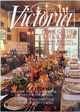 "VICTORIA MAGAZINE~NOVEMBER 1996~""COME GATHER AT OUR TABLE""~VINTAGE~"