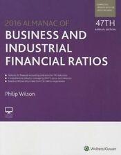 Almanac of Business & Industrial Financial Ratios (2016) (Almanac Of Business an