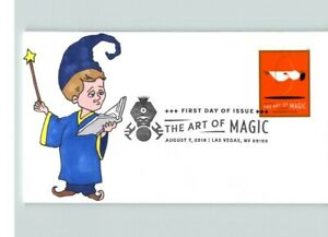 The ART of MAGIC, Hand Painted # 1 of only 1 made, First Day of Issue
