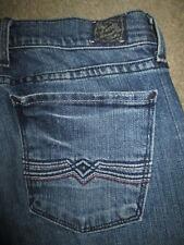 LUCKY BRAND Size 4 / 27 Sundown Wide Leg Jean Stretch Med Blue Denim Womens USA