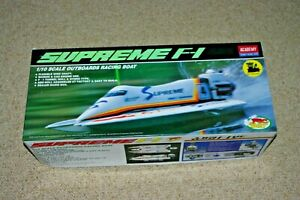ACADEMY SUPREME F-1 Scale Outboard Racing Boat 1/10 Scale