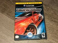Need for Speed Underground Nintendo Gamecube Wii Complete CIB Authentic