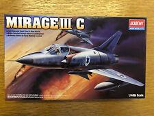 Academy 12247 Mirage Iii C 1/48 Nuevo Y En Caja