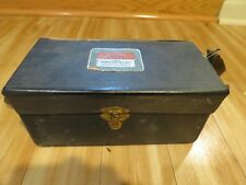 Antique Vintage Tower Camera with Flash Kit and Box Deco