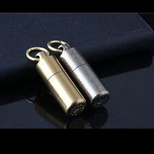 1PC Creative Model Mini Grinding Wheel Metal Kerosene Lighter Cool Gift