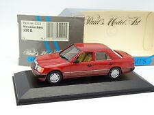 Minichamps 1/43 - Mercedes 230 E W124 Rouge
