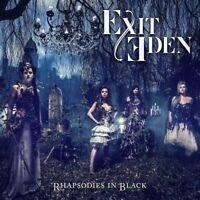 EXIT EDEN - RHAPSODIES IN BLACK   CD NEU