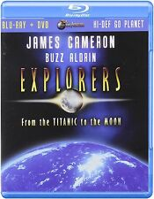 James Cameron Buzz Aldrin Explorers From the Titanic to the Moon Blu-ray