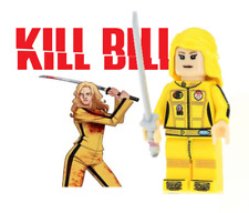 New Kill Bill The Bride Play With Lego Minifigure Usa Seller