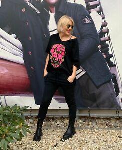T-Shirt Oversized Totenkopf-Skull Neue Kollektion!!!