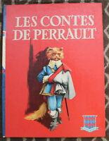 1960 ✤ les CONTES de PERRAULT ✤ Illustré Jacques Pecnard