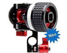 Zacuto Z-Drive Follow Focus fuer 15mm Rohre inkl. 0.8 pitch Zahnrad, NEU/NEW