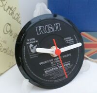 *new* MODERN TALKING VINYL RECORD SINGLE CLOCK - An actual Record Centre
