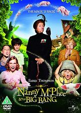 Nanny McPhee & The Big Bang [DVD] Emma Thompson, Ralph Fiennes New and Sealed