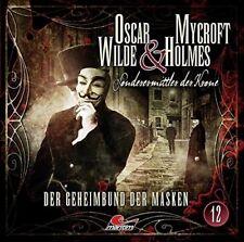 OSCAR WILDE & MYCROFT HOLMES-FOLGE 12 - DER GEHEIMBUND DER MASKEN   CD NEU