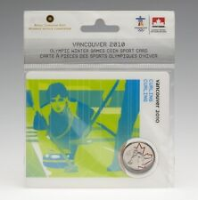2007 25 Cents Vancouver 2010 - Curling  Coin Sport Card coin