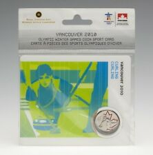 2007 25 Cents Vancouver 2010 - Curling - Coin Sport Card