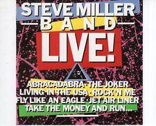 CD STEVE MILLER BANDliveUS 1988 EX (A1731)