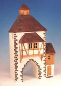 Frontline Figures German Half timbered, 2 story building - 14 inches  54mm EH.3