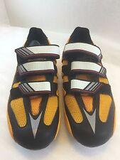 Adidas Mens 7 US 6.5UK 40EU 250J Girano Cycling Bike Shoes Yellow Black New Box