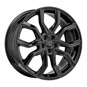 ALLOY WHEEL MSW 41 LEXUS RC 300h Staggered 9x20 5x114.3 ET 40 GLOSS BLACK f45