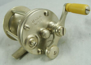 Old Vintage HORTON MEEK No. 2 Casting Reel - German Silver - Ky. Style