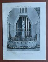 WBe) Architektur Stuttgart 1907-1910 Bauausstellung Brunnen Halle Fabrik 24x31cm