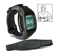 Wireless Heart Rate Monitor Chest Strap Watch Fitness Belt Sport Multi-Function