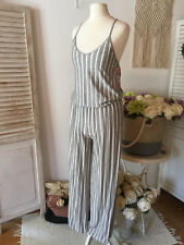 625ae9723dc italy mode ♥ Pink Cherry ♥ Overall ♥ Jumpsuit ♥ Gris ♥ maritime ♥ 38
