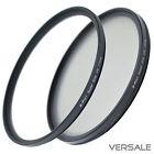 UV + CPL Filter 58mm Super Slim Kamera Objektiv Ø 58 mm Gewinde dünner Rahmen
