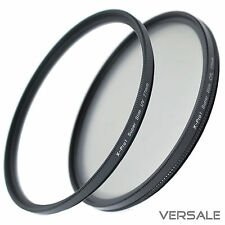 UV + filtro CPL 58mm super slim cámara objetivamente Ø 58 mm rosca marco fino