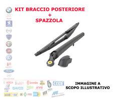KIT BRACCIO TERGICRISTALLO SPAZZOLA POSTERIORE ALFA ROMEO 147 156 FIAT IDEA