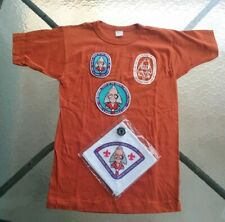 1981 National Order Of The Arrow Conference Lot Shirt Neckerchief Slide Patches