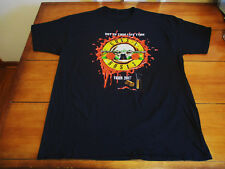 GUNS N ROSES BRAND NEW CONCERT T-SHIRT XL GILDAN FROM SHOW IN NYC AT MSG