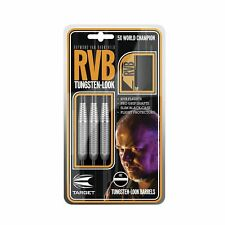 Raymond Van Barneveld RVB Tungsten Look Steel Tip Brass Darts Set – 21g