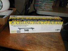 """NEW Kwik-Brace Ceiling Fan Chandelier Support Brace & Box Kit 1.5"""" Standard #926"""