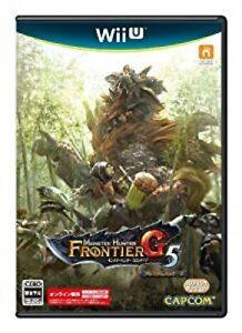 Wii U Monster Hunter Frontier G5 Premium Japan Ver.