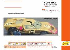Ford Mkii - N.5 3rd Le Mans 1966 Slot Car Model CA20C SLOT.IT