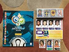 PANINI FIFA WORLD CUP 2006 wm Germany Complete set + empty Album + aggiornamenti